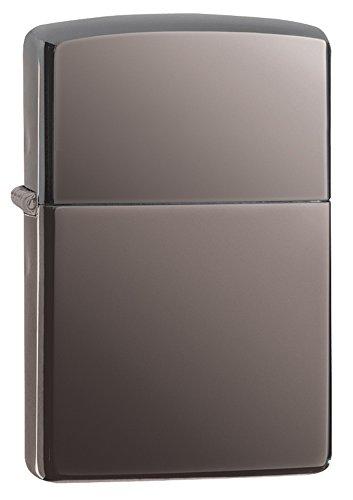 Zippo 1024001 Feuerzeug Black Ice (Zippo-feuerzeug Flamme)