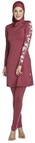 YEESAM femmes musulmanes maillot de bain modeste couverture complète beachwear islamique Burqini Burkini – hijab détachable