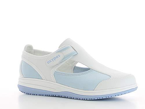 Oxypas Candy, Women\'s  Work Shoes, Blue (Light Blue), 41 EU (7 UK)