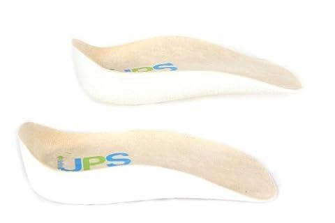 HealthPanion 1 Ensemble de Semelles orthopédiques longueur 3/4 orthèse support pour la voute plantaire - talonnettes toutes pointures