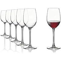 Vasos de vino tinto Tivoli Domaine - Set de 6-330 ml - Apto para lavavajillas - Hecho en turquía