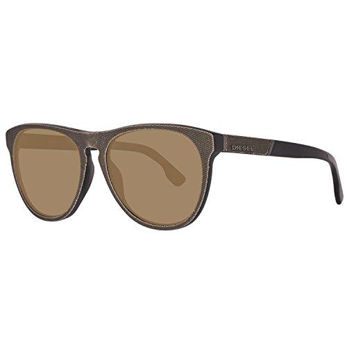 Diesel Unisex-Erwachsene DL0168 5697G Sonnenbrille, Olive, 56