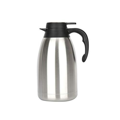 UPKOCH Vakuumisolierte Isolierkanne Isolierkanne aus Edelstahl für Kaffee, Saft, Milch, Tee und Getränke - Thermal Dispenser Kaffee