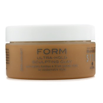 Alterna Bamboo Style Form Ultra Hold Sculpting Clay for Unisex, 2 Ounce by Alterna