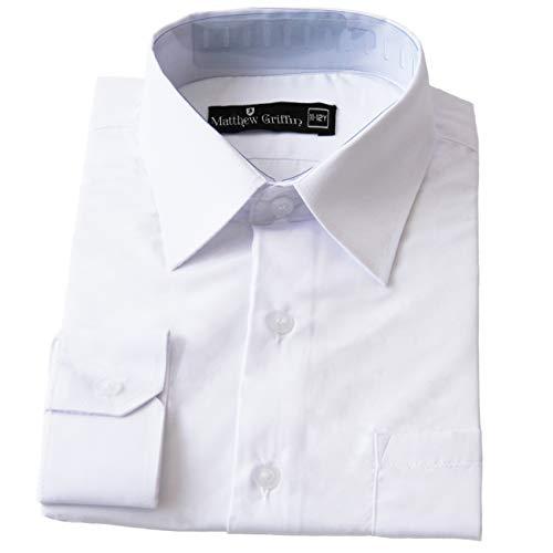 Matthew griffin - camicia - ragazzo white 11 a 12 anni