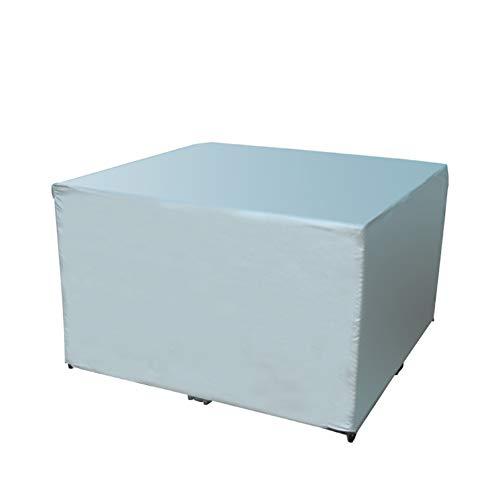 XUEYAN Wasserdichter und staubdichter Bezug, Outdoor-Rattanstuhl, Sofa, Tisch- und Stuhlbezug, Regenschutz (Farbe : Gray, größe : 150x130x90cm)