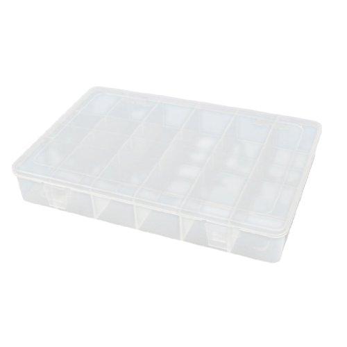 Aexit Kunststoff 24 Fächer Schmuck Ohrringe Clip Organizer Tool Box Aufbewahrungskoffer (481301b6c550be23b7b6d44400cf2407) -