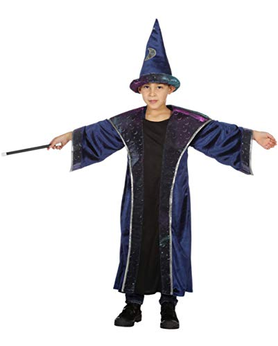 Horror-Shop Zauberer Koralis Kinder Kostüm für Jungen an Fasching 128