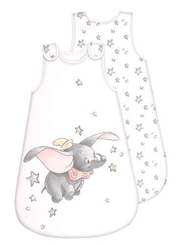 Disney Dumbo Sac de couchage pour bébé avec fermeture Éclair tout au long de l'année