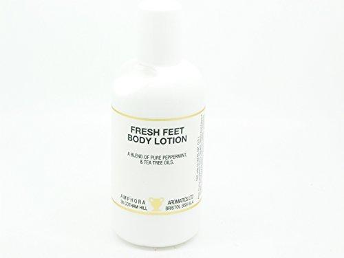 Lotion aux huiles essentielles pour pieds craqués, anti-odeur.