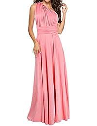 pretty nice c3bc5 6607b Amazon.it: I Vestiti Eleganti Da Donna - Rosa / Vestiti ...