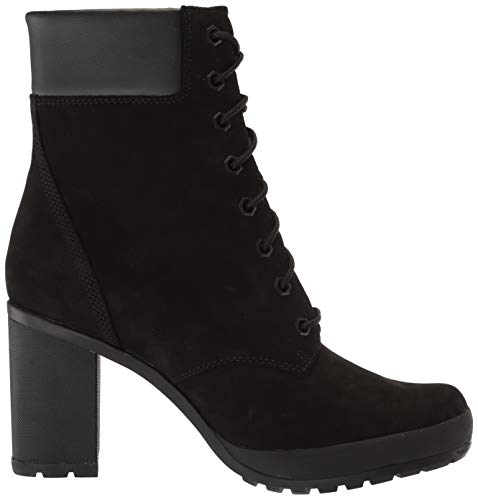 Timberland Women s Camdale 6in Fashion Boot  Black Nubuck  7 M US