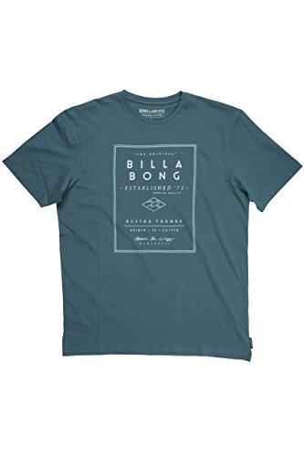 G.S.M. Europe - Billabong Herren T-Shirt DIVIDE Short Sleeve Oceánico