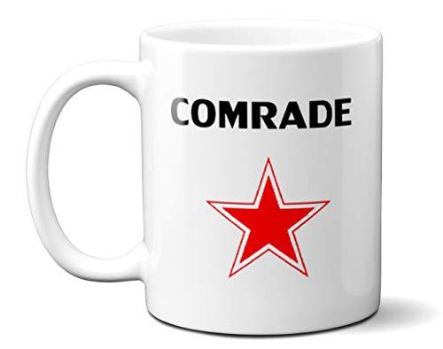 CCCP Tasse mit rotem Stern, 313 ml -