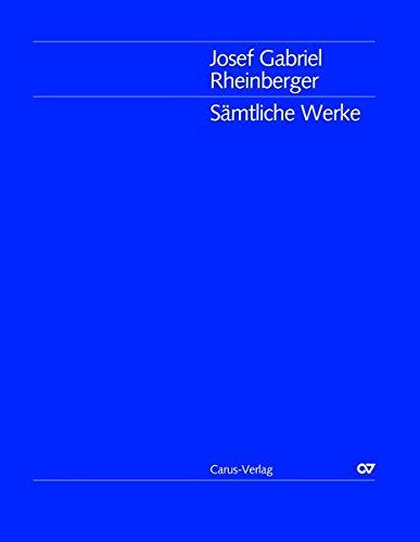Sämtliche Werke/Josef Gabriel Rheinberger: Bearbeitungen eigener Werke I (für Klavier zu 4 bzw. zwei Händen): Gesamtausgabe Band 41