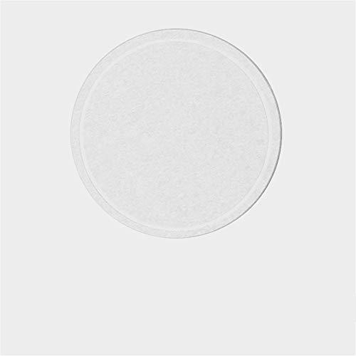 ZCHPDD Natürliche Einfarbige Kieselgur Schlamm Matte Topf Coaster Isolierung Verbrühungsschutz Absorbieren Kieselgur Schlamm Matte Schüssel Matte Topf 10 * 10Cm Weiß 10 * 10Cm * 4St