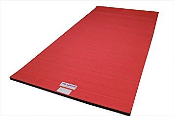 4x6x2-Dollamur-Flexi-Roll-Carpeted-CheerGymnastics-Mat-Red