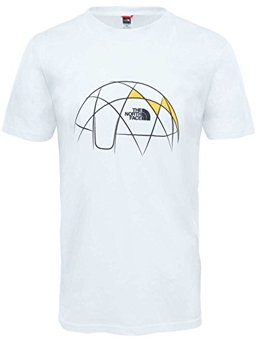 The North Face M S/S CEL Easy Tee TNF White Shirt, Herren TNF Weiß