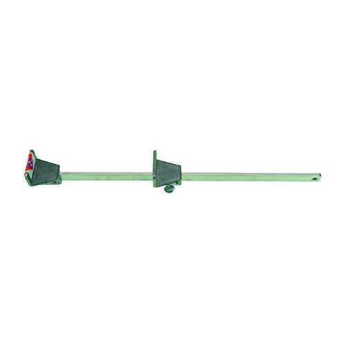 HaWe Lattenstichmaß Alu mit Skala und Schraube | Länge 450 mm