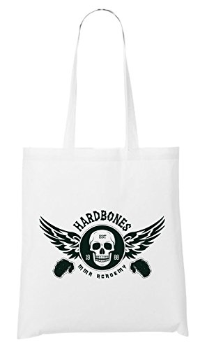 Hardbones Gym Borsa Bianco Certified Freak