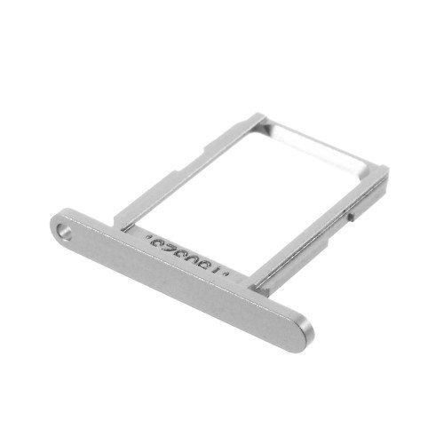 jbTec® SIM-Tray passend für Samsung Galaxy S6 / SM-G920F - GSM-Karten-Schlitten/Halter, Farbe:Silber - Farbe Schlitten