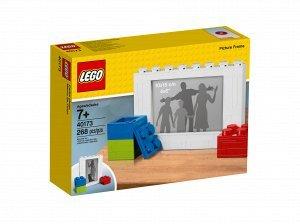 Bilderrahmen für eigene Bilder bzw. Fotos, dieser Rahmen wurde von Lego erstellt (Lego Bilderrahmen)