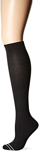 HUE Women's Power Graduated Compression Knee Socks
