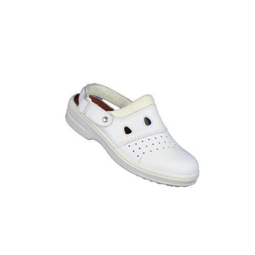 Actuelles Annie PB Sicherheitsschuhe Berufsschuhe Sandale Weiß B-Ware Weiß