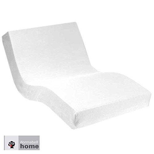 Dormabell Premium Spannbetttuch, extra hoch (für Matratzen 25-35cm) speziell für Boxspring- oder Wasserbett entwickelt, elastisch | Blickdicht | bügelfrei | langlebig (weiß, 180 x 200 cm) - Premium Wasserbett-matratze