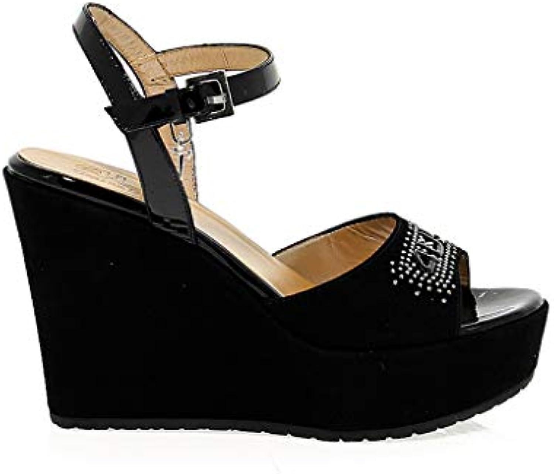 Cesare Paciotti 4Us Femme 4USSD30 4USSD30 4USSD30 Noir Suède Chaussures CompenséesB07K2JP7TCParent 03e3bb