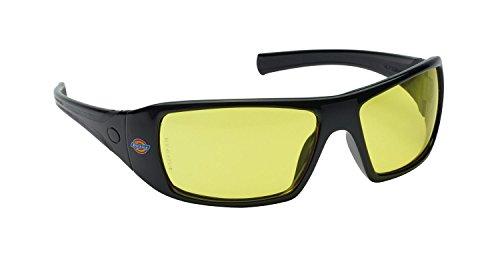 Dickies Schutzbrille Wrap-around, 1 Stück, Einheitsgröße, bernstein/gelb, SP1025 AM