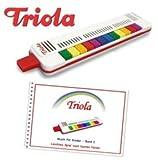 Triola 12 - die beliebte Blasharmonika für Kinder mit 12 Tönen -- im Set mit Liederbuch Band 2 (deutsche Weihnachtslieder)
