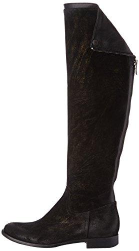 Now 1568 Damen Stiefel & Stiefeletten Schwarz - Noir (Giove Nero Nappa Nero)
