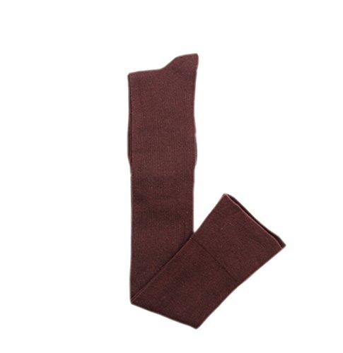 Schenkel Hoher Strümpfe Überknie Kniestrumpf Lange Socke Stretch Baumwolle Overknee Socken Kaffee ()