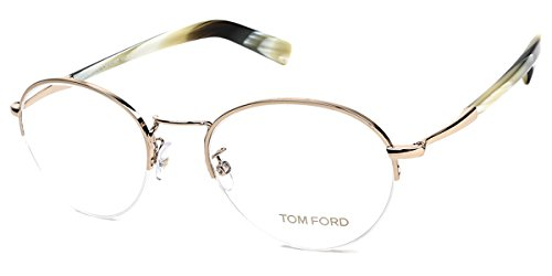 Tom Ford Unisex-Erwachsene Brillengestelle Brille FT5334 032, goldfarbend, 54 (Tom Ford Brille Runde)