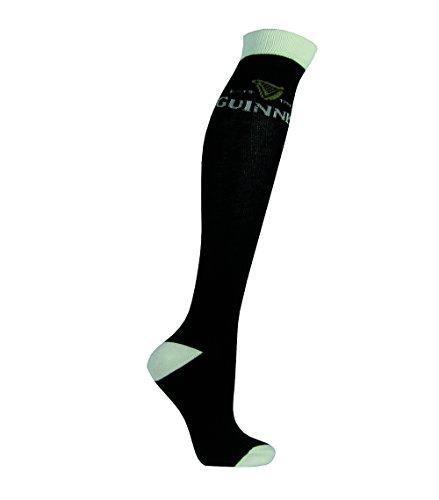 Guinness Schwarz Harfe Knie Socken