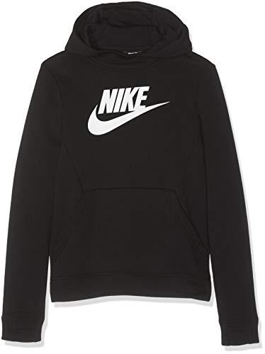 Nike Jungen Sportswear Hoody, Black/White, XS