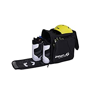 Driver13 Skistiefeltasche mit Helmfach und Rucksacksystem schwarz 2018 AR-10088