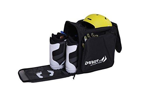 Driver13, borsa per scarponi da sci con scomparto casco e zaino nero 2018.