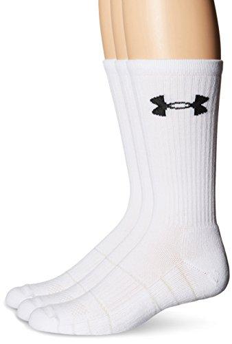Under Armour Herren Sportswear Socken und Strümpfe Team OTC, White, L, - Brady Socken Tom