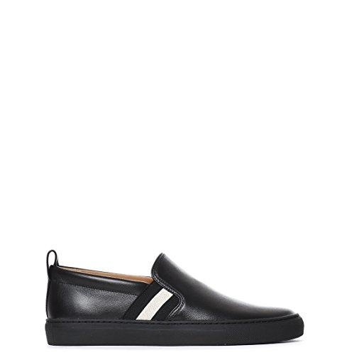 bally-mens-herald6198485200-black-leather-slip-on-sneakers