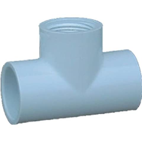 Genova Products .75in. PVC Sch. 40 Female Tees 35457 - Pack of 10 - 0,75 Pvc Tee