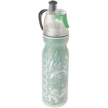 O2 Cool Mist N/' Sip Hydration Misting Bottle Green