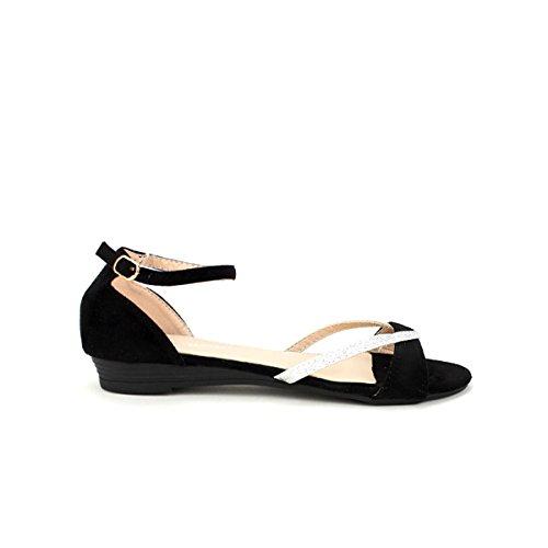 Cendriyon, Sandale Black CH CREATION Chaussures Femme Noir