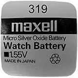 Maxell 319 - SR527SW (1.55V) - 1 Pila de óxido de plata