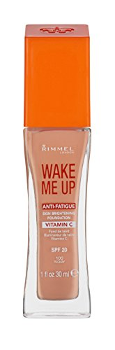 Rimmel London Wake Me Up Foundation With Vitamine C 100 Ivory