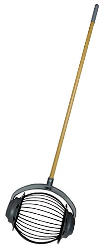 UPP Rollsammler GROß MIT 105cm HOLZGRIFF/Obstsammler/Apfelsammler/Nusssammler/Fallobstsammler/Roll/Blitz/Obstpflücker/Walnusssammler/Tennisballsammler/Golfballsammler Apple-maden-falle