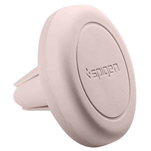 Spigen Kuel Q11 - Supporto Auto Smartphone [Quad Neodimio Core] [Universale 360º One Touch] Supporto Smartphone - Ros