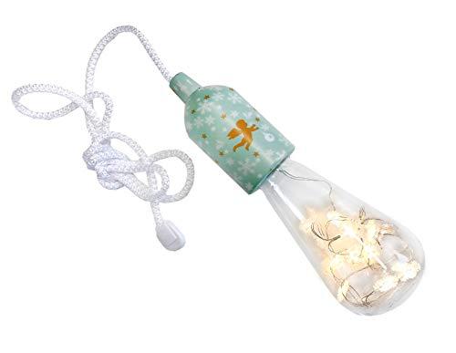 Xanadoo LED Emotionlight/Stimmungslicht GOLDENE BLÄTTER + Schneeflocken (AAA - Batteriebetrieben) New Christmas Edition (Edition Blätter)