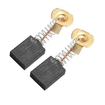 TOOGOO(R) 2 Stueck Elektromotor Elektrowerkzeug Teil Kohlebuerste 6,5 mm x 13,5 mm x 18 mm - Elektromotor Bürsten